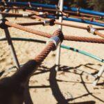 playground, rope, equipment